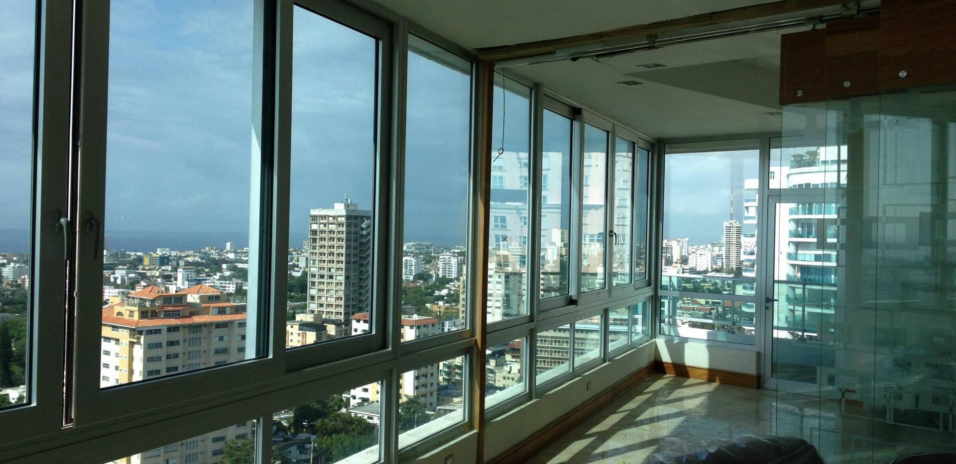 Laminado 3M Prestige en apartamento en La Esperilla, Santo Domingo