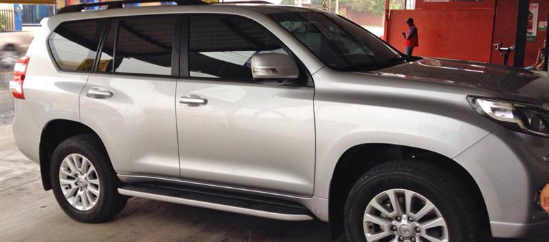 Laminado contra el calor 3M Obsidian en Toyota Land Cruiser Prado