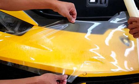 Laminado Xpel Paint Protection Film instalado en carro