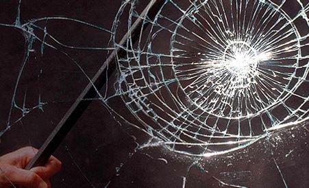 Vidrio con laminado 3M de seguridad