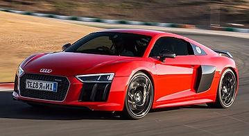 Audi R8 utilizando Huper Performa