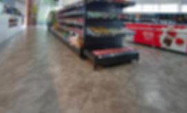 Shaw Contract vinyl floor in store