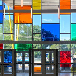 Colored window films