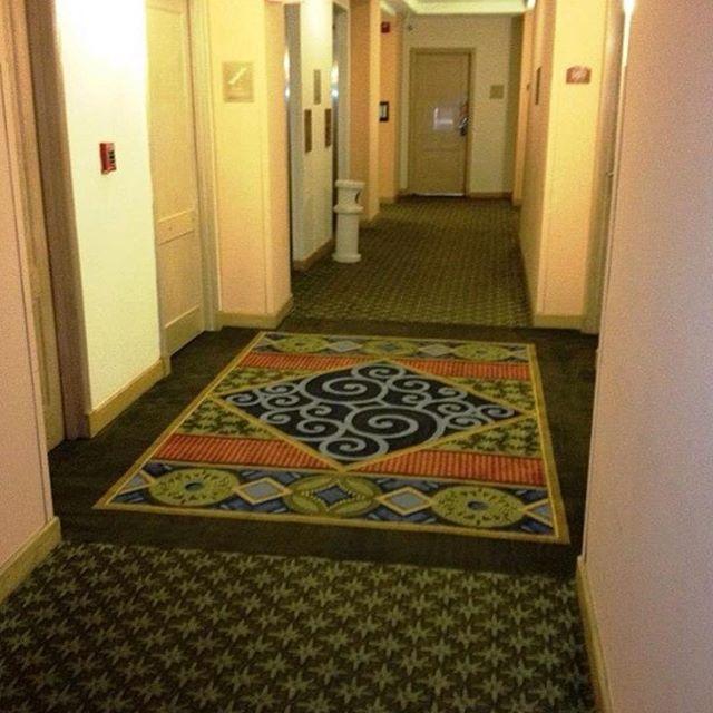 Instalación alfombra Mohawk Durkan Hotel