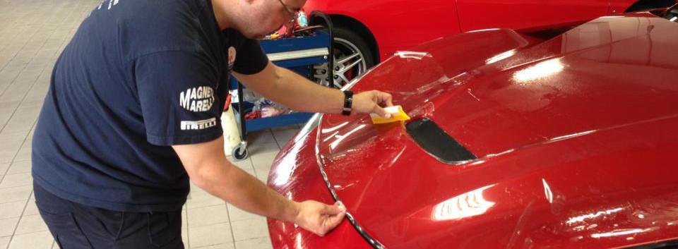 Ferrari F12 Berlinetta protegido con Xpel Ultimate Plus