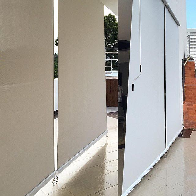 Instalación de cortinas para exterior