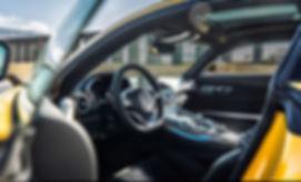 Tintado para autos en Mercedes GT-S