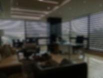 Neolux curtain in office in Santo Domingo