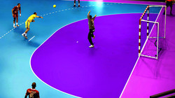 Piso de vinil para cancha balonmano Tarkett Omnisports