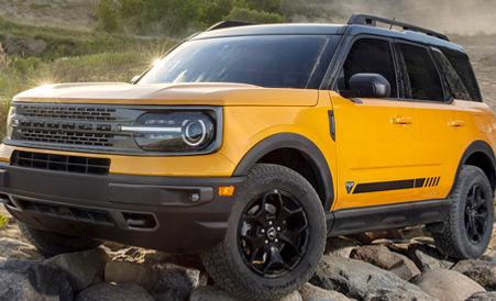 Laminado 3M Scotchshield en Ford Bronco amarillo