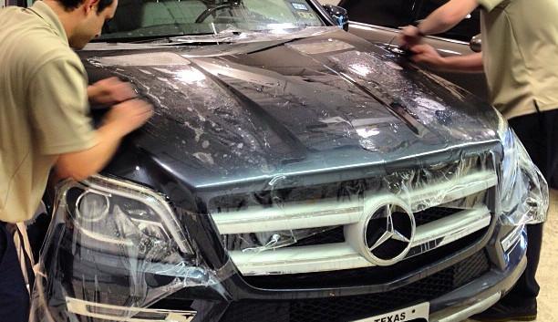 Instalación de Xpel Ultimate Plus en Mercedes Benz