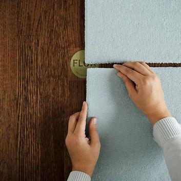 Instalacion de alfombras modulares FLOR