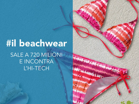 Il beachwear sale a 720 milioni e incontra l'hi-tech