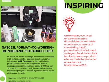 Nasce il format «co-working» monobrand per parrucchieri