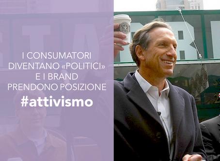 """I consumatori diventano """"politici"""" e i brand prendono posizione"""