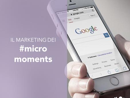 Il marketing dei micro-moments