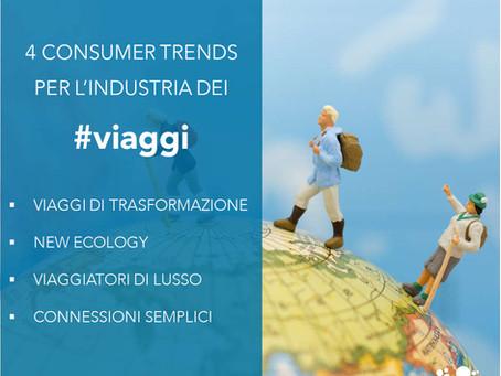 4 consumer trends per l'industria dei viaggi