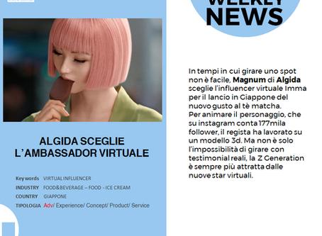 Algida sceglie l'Ambassador virtuale