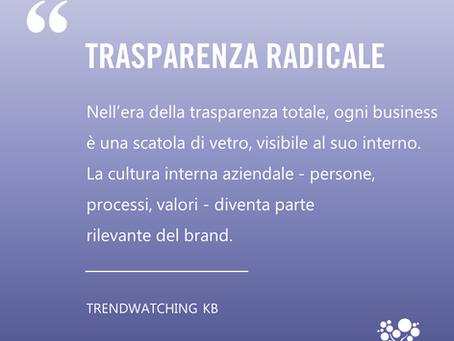 Trasparenza radicale