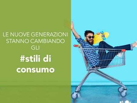 Le nuove generazioni stanno cambiando gli stili di consumo