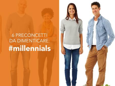 Millennials: 6 preconcetti da dimenticare