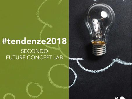 Tendenze 2018 secondo Future Concept Lab