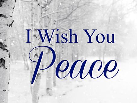 A Peaceful Season – with JOY