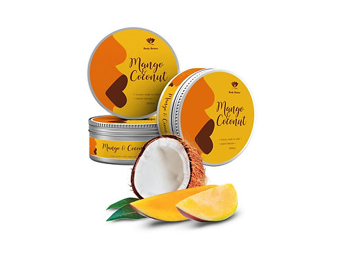 Mango & Coconut Body Butter (Sale)
