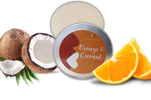 Orange & Coconut Body Butter
