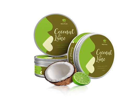 Coconut & Lime Sugar Scrub (Sale)
