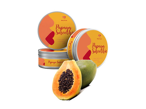 Papaya Smoothie Sugar Scrub