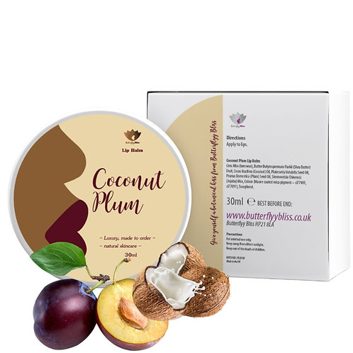 Coconut Plum Lip Balm