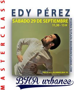 MASTERCLASS EDY PÉREZ
