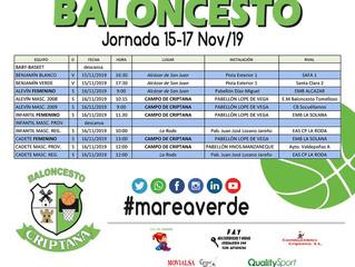 JORNADA 15-17 DE NOVIEMBRE
