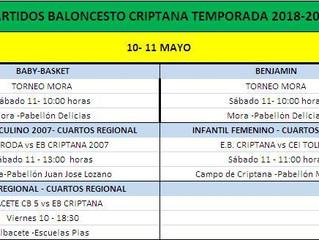 CUARTOS DE FINAL REGIONALES