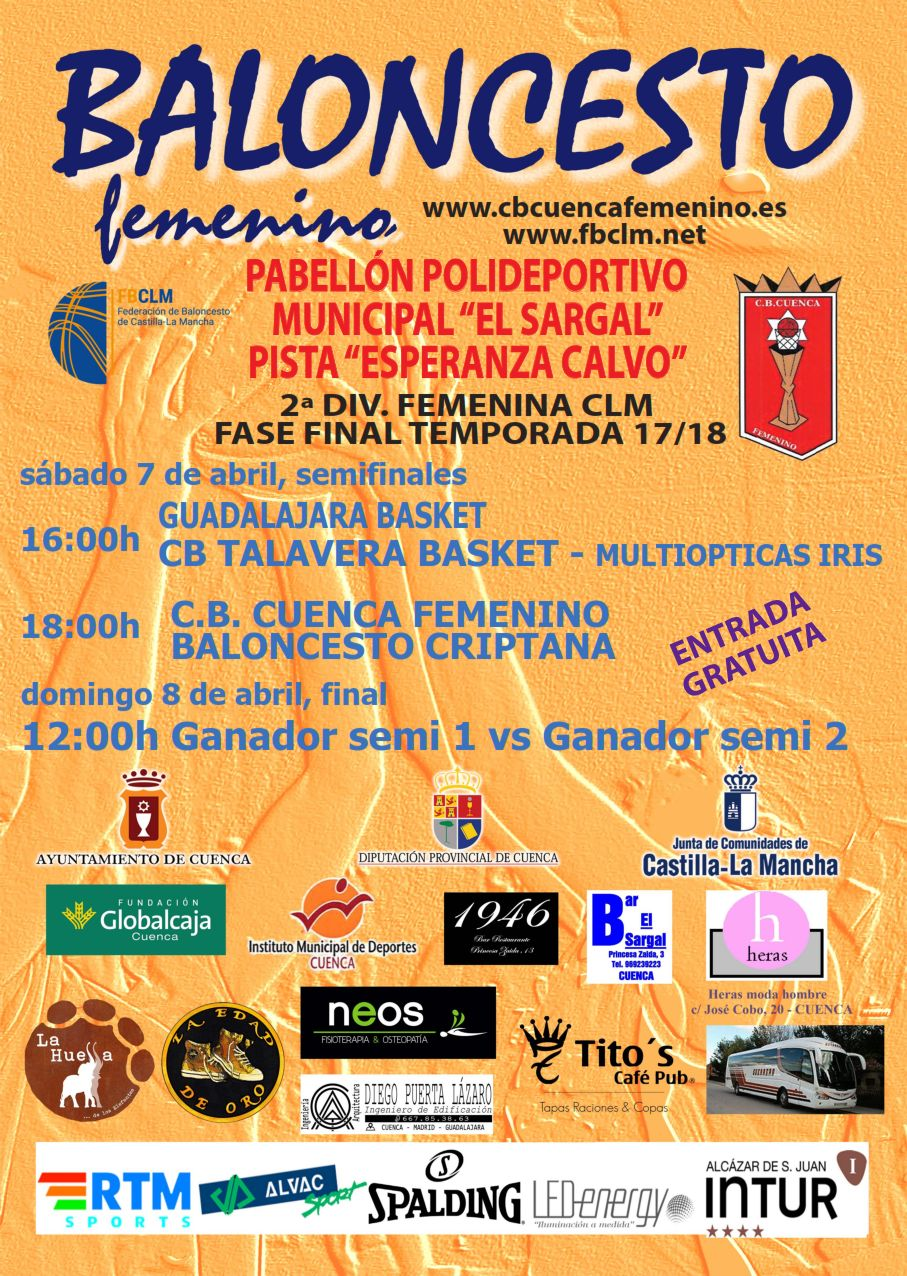 Cartel Fase final femenina