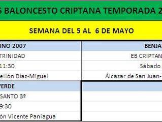 PREVIAS 5-6 DE MAYO