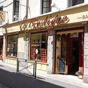 Vue extérieur - Restaurant Le Restique - Vienne, Isère