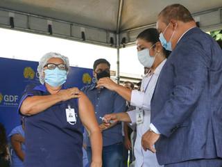 Ibaneis amplia idade de pessoas vacinadas para 66 anos a partir deste sábado