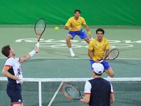 No tênis os representantes brasileiros foram bem abaixo do esperado