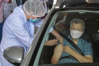 GDF amplia vacinação com abertura de três drive-thrus neste sábado, dia 06