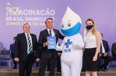Governo intensifica campanha de divulgação da vacina anticovid-19