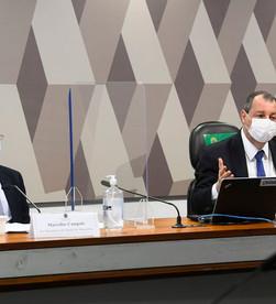 Ex-Secretário tenta amenizar na CPI a  crise por falta de oxigênio no Amazonas