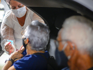 GDF registra queda acentuada na internação de idosos em leitos de UTIs