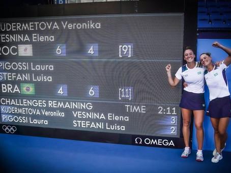 Dupla de tênis surpreende e conquista pela primeira fez medalha de bronze