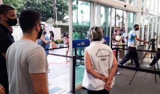 GDF interdita shopping por violar protocolos de segurança contra covid-19