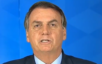 Bolsonaro pede união de todos no lançamento do plano de imunização