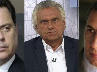 """Nessa """"briga"""" por Goiás estão ainda Daniel Vilela, Gustavo Mendanha e Jânio Darrot..."""