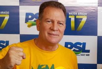 PSL oficializa chapa pura com Major Araújo para prefeitura de Goiânia