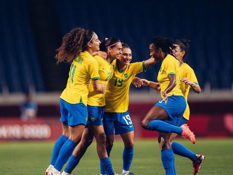 Seleção feminina de futebol vai enfrentar as canadenses na sexta-feira, dia 30